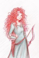 .Merida. by BeckaNeeChan