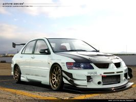 Mitsubishi Lancer Evolution 8 by Active-Design