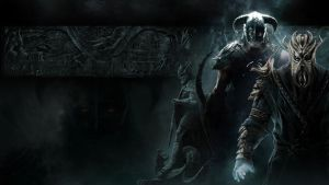 Skyrim Wallpaper DLC by Revan1337