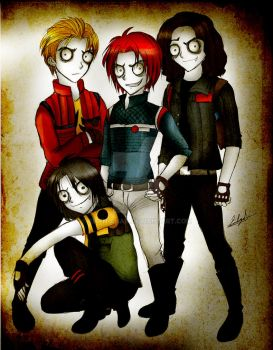 Creepy Killjoys by Eilyn-Chan