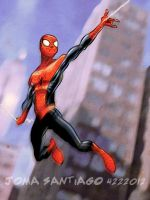 Spider man by joma33