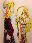Dany and Viserys: Blood of the Dragon by Chibifangirl01