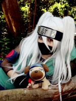 Hatake Kakashi - sexy no Jutsu cosplay by Kelly-Chan7