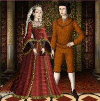 King Ferdinand II and Queen Isabella by jjulie98