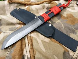 Fireant, handmade tactical knife by cineck