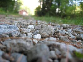 Gravel Path by Fimrah