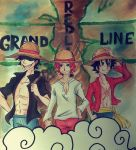 The Strawhat by leneko