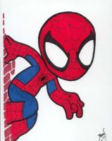 Chibi-Spider-Man 6. by hedbonstudios