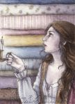 ACEO The Princess and the Pea by Achen089