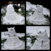 Snow Dalek by Aura3107
