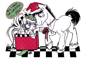 All I Want For Christmas Is... YOU by Serge-Stiles