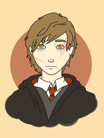 School Portraits: Remus Lupin by EevyLynn