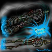 Concept Weapon Power Spear by DennisH2010
