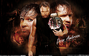 Dean Ambrose Wallpaper by JrbDesign
