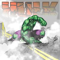 The Hulk-color by drZ73