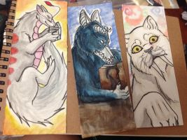 Bookmarks!!!! by MagicallyCapricious