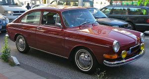VW 1600 Coupe by cmdpirxII