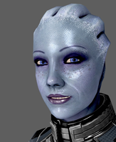 New Liara Face Normals! by anorexianevrosa