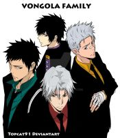 Vongola Guardians Colored by TOPCAT91
