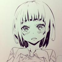 short haired girl! by matchang