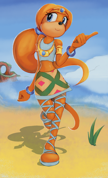 Tikal + 120% more hair by skylights1