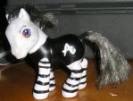 Amanda Palmer custom pony by zlyoga