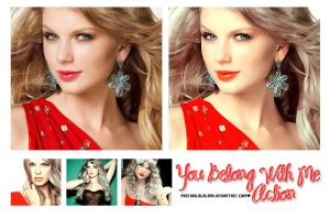You Belong With Me Action by PartyInLalaLand