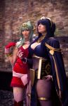 Tharja and Tiki by QueenRiot