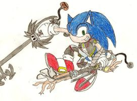 KH Sonic by Leon259