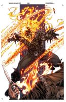 Ghost Rider by harveytolibao