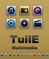 TuilE Icons - Multimedia by Lukeedee