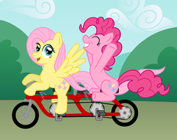Biking For a Cause by wildtiel