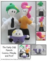 The Fairly Odd Parent Plushies by SoandSewPlushies