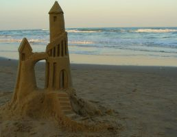 Sandcastle by SnapPeas