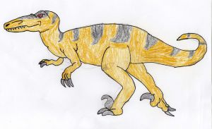 the pack hunting dinosaur by trexking45