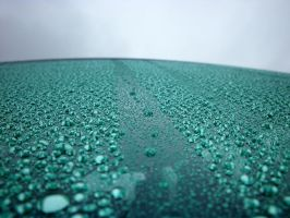 A Rainy Car Windshield by Dunder-Muffin