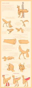 Jumpy Glowies Ref by red-anteater