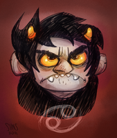 Karkat Vantas by SIIINS