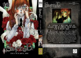 SACRED VOLUME 3 official COVER by SiSero