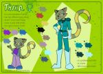 Character sheet - Thika by Shini-Smurf