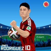 James Rodriguez by BOArtt