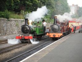 G. H. Wood and Caledonia by SteamRailwayCompany