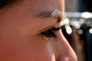 BG's lashes by atticusforever