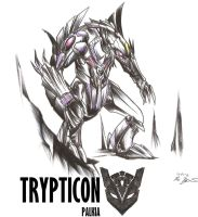 PALKIA: TRYPTICON by RyouKazehara