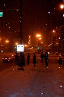 chicago's wintertime by batbeater