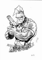 Savage Dragon by LucianoAbras
