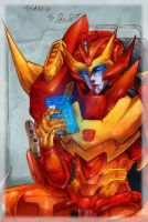 Collab: Rodimus by MZ15