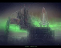 Polar Base Speedpaint by Azot2014