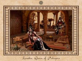 Zenobia, Queen of Palmyra by BlackWolf-Studio