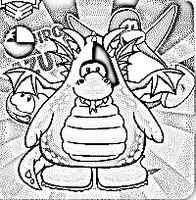 Club Penguin: Penguin Drawing1 by naspee